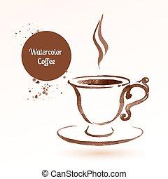 um, copo, de, coffee.