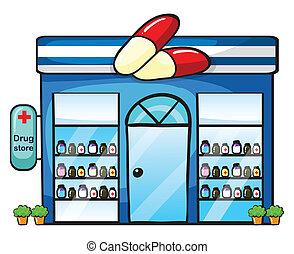 um, loja droga