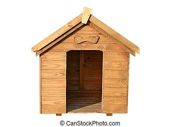 um, madeira, cão, house.