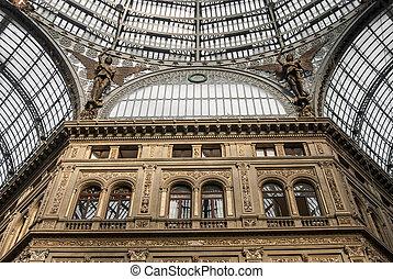 Umberto gallery in Naples