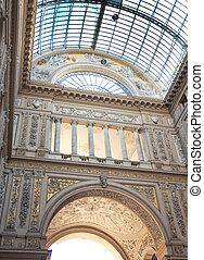 Umberto I gallery in Naples