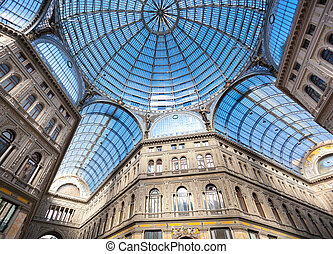 Umberto I gallery in Naples - Umberto I gallery in the city...
