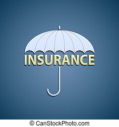 umbrella and the word insurance