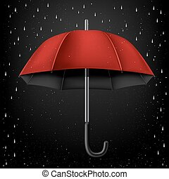 umbrella black rain background