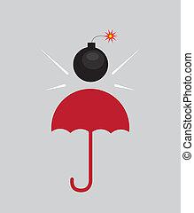 Umbrella Bomb