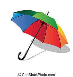 Umbrella - Colorful umbrella