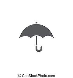 Umbrella Icon on white background