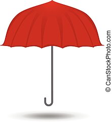 umbrella icon symbol vector illustration