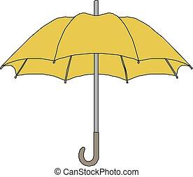 umbrella Icon vector flat design