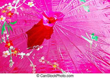 umbrella., kleurrijke, abstract