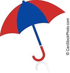 umbrella logo design .