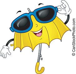 Umbrella Mascot