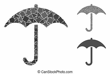Umbrella Mosaic Icon of Tremulant Elements