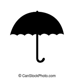 umbrella pictogram icon image