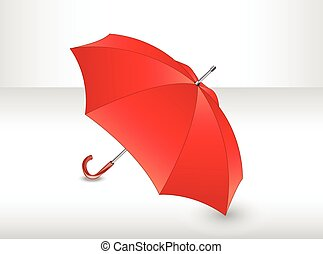 umbrella., rouges