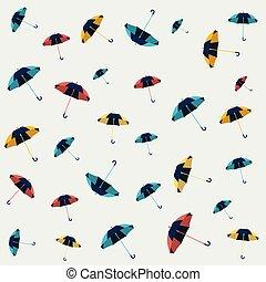 Umbrella seamless pattern design, wallpaper, textile design,...