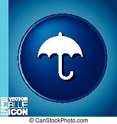 umbrella. symbol umbrella. protection from rain and moisture