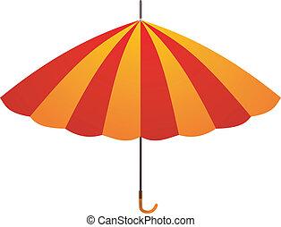 umbrella., vetorial