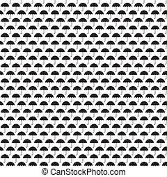 Umbrellas seamless pattern