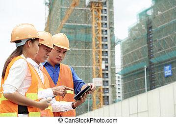 umieszczenie zbudowania, handlowy zaludniają