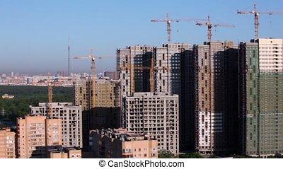 umieszczenie zbudowania, od, mieszkanie, na, tło, od,...