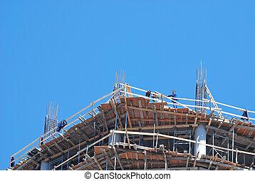 umieszczenie zbudowania