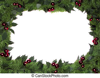umrandungen, weihnachten, rahmen