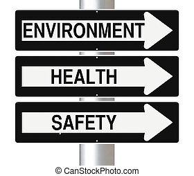 umwelt, gesundheit, sicherheit