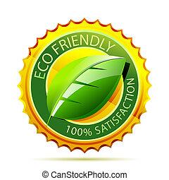 umweltschutzfreundliche, gold, ikone
