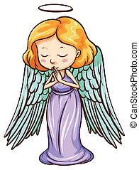 un, angel rezar