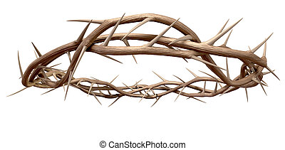 un, corona de espinas