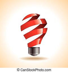un, creativo, idea