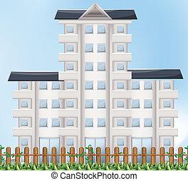 un, edificio alto
