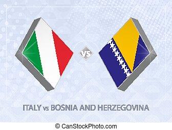 un, fútbol, europeo, herzegovina, liga, 1., italia, ...