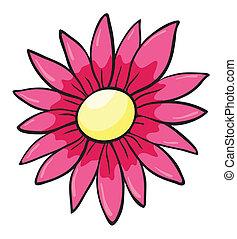 un, flor