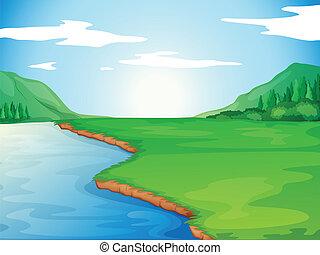 un, río