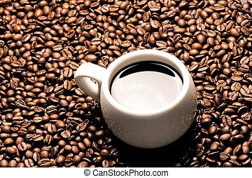 un, taza de café
