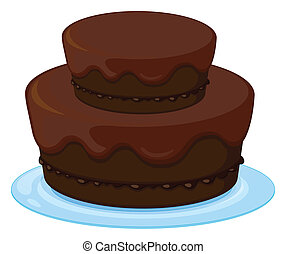 un, torta de cumpleaños