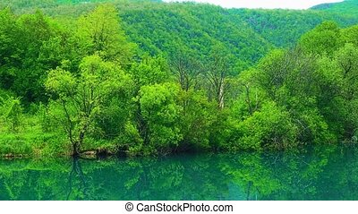 Una river landscape