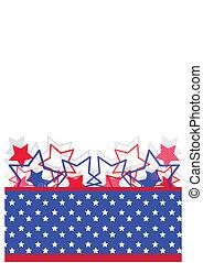 unabhängigkeit- tag, banner