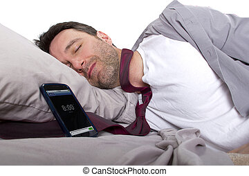 Unable to Wake up In Time - tardy employee unable to wake up...