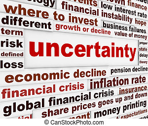 Uncertainty financial design