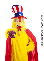 Uncle Chicken Wants You