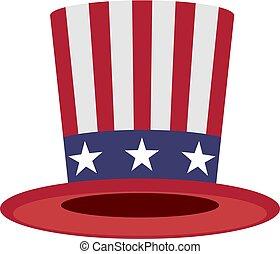 Uncle Sam hat symbol of America