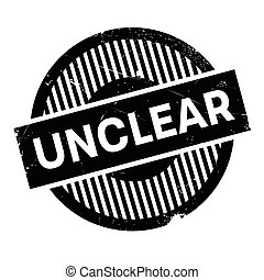 Unclear rubber stamp. Grunge design with dust scratches. Effects can be easily removed for a clean, crisp look. Color is easily changed.