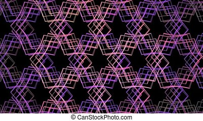 Unclear vision. - HD abstract fractal art transformation...