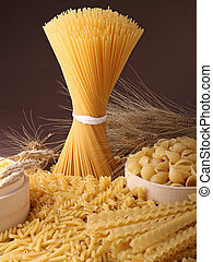 uncokked pasta