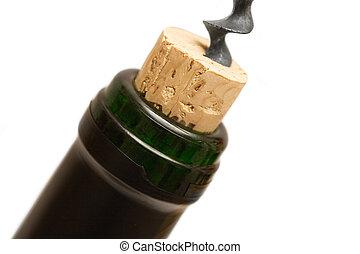 Uncorking a Bottle