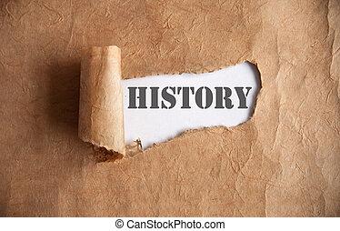uncovering, historia
