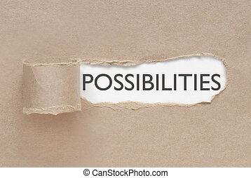uncovering, possibilità